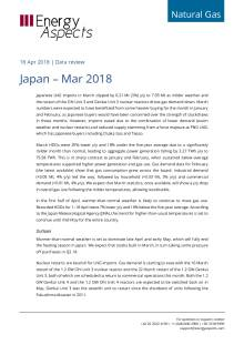 2018-04-18 Natural Gas - Global LNG - Japan – Mar 2018 cover