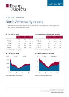 2018-04-20 Natural Gas - North America - North America rig report cover